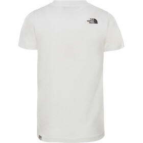 The North Face Box Camiseta Manga Corta Niños, tnf white